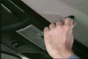 Mercedes R170 SLK Dach Not-Betätigung Bild 14